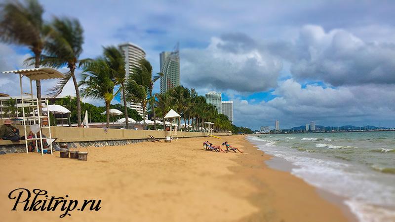 пляж отеля Амбассадор Паттайя