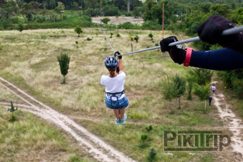 Полет тарзана в джунглях паттайи