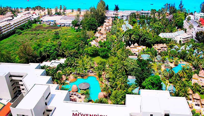 Отель Мовенпик пляж Карон Пхукет