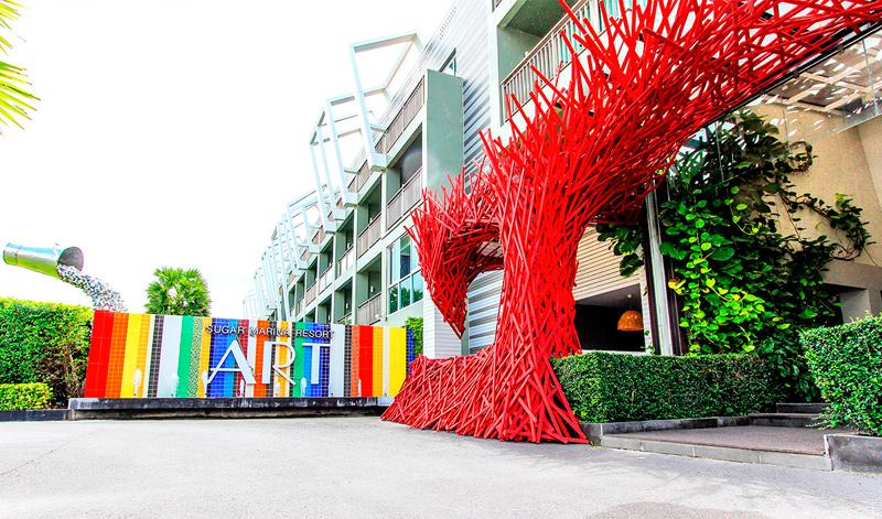 Отель на Кароне Sugar-Marina-Resort
