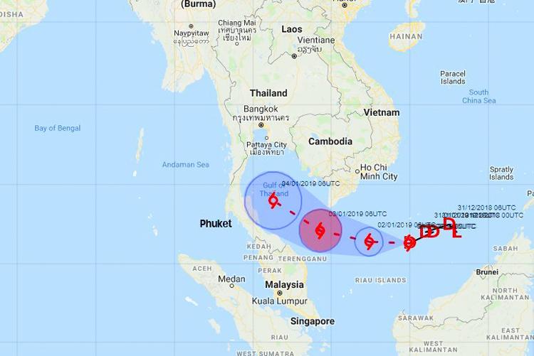 шторм в Таиланде сейчас Пхукет