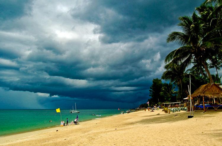 Тайфун Пабук в Таиланде новости сейчас