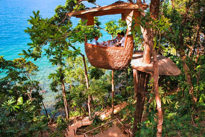 Лучшие необычные отели Таиланда