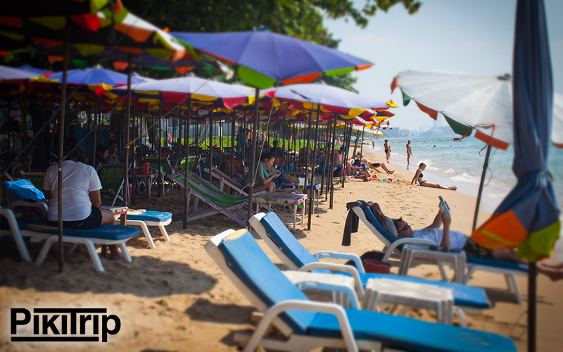 пляж джомтьен фото
