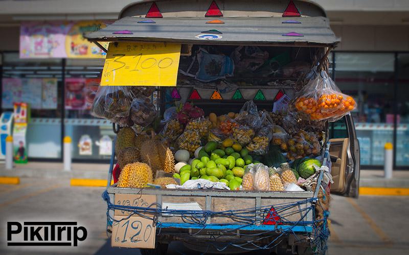 фрукты с машины джомтьен