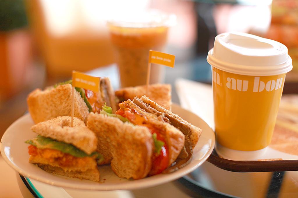 Кафе в Паттайе — Бон Пан (au bon pain)