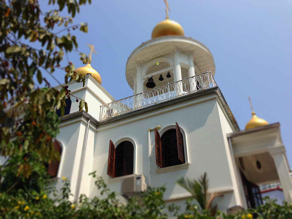 православная церковь в Паттайе