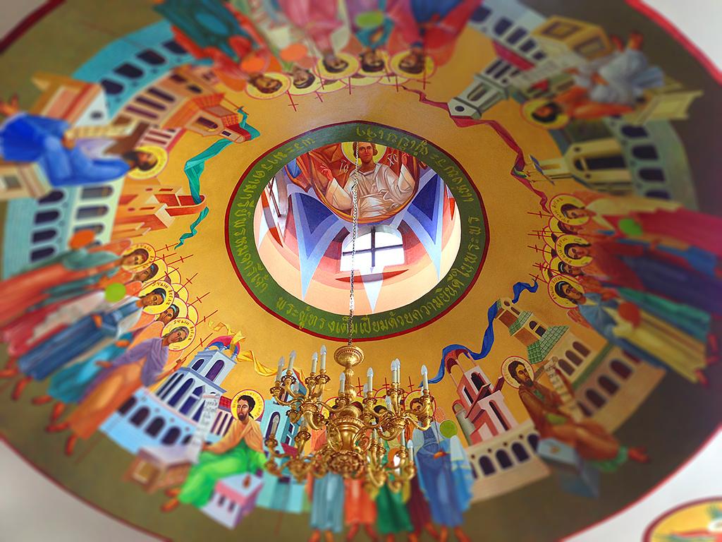 церквовь всех святых в паттайе