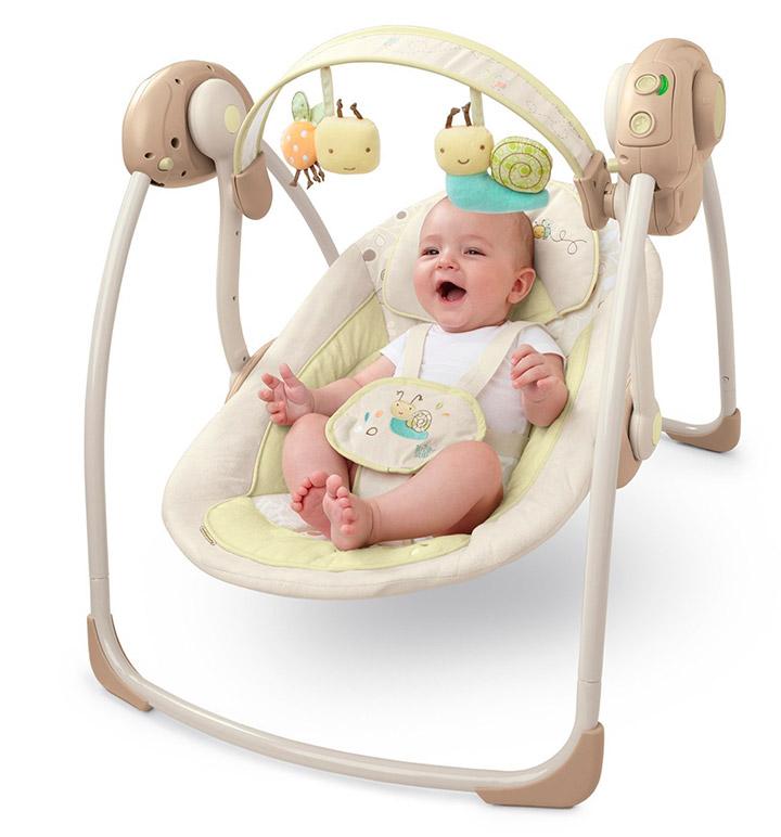 кресло-качалка с рождения Bright Stars