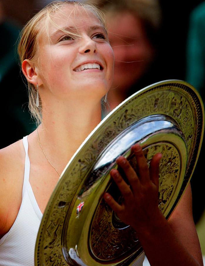 Уимблдон 2004 Мария Шарапова