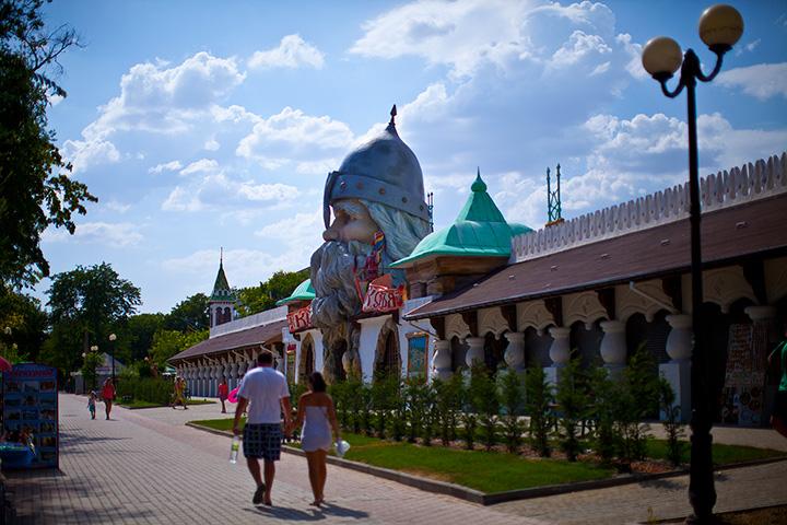 Евпатория аквапарк фото