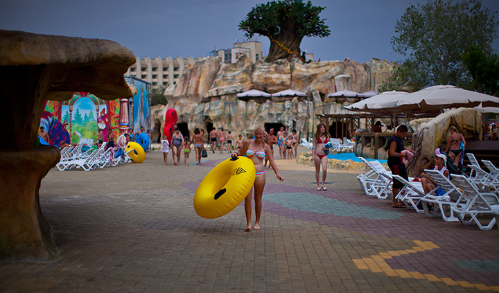аквапарк евпатории фото