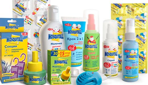 средства от комаров детям