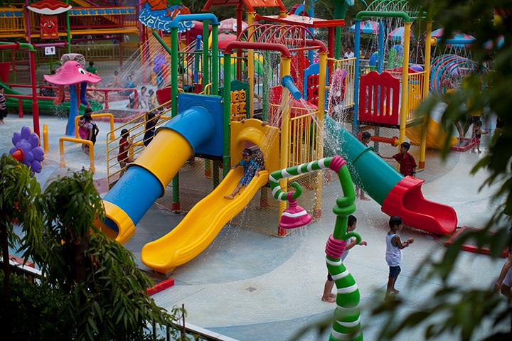 аквапарк для детей в Дрим Ворлд