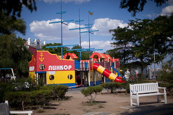 детская площадка на Терешковой