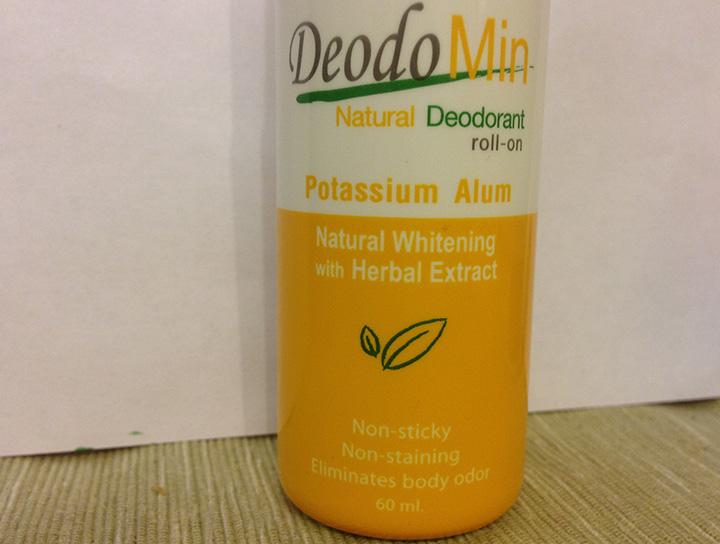 мой любимый дезодорант кристалл, как обычно у тайцев - с отбеливанием кожи)