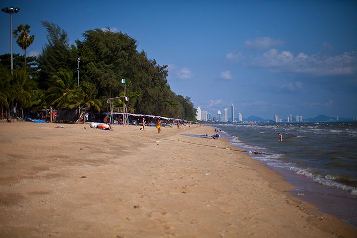 Донгтан - пляж у отеля Паттайя парк