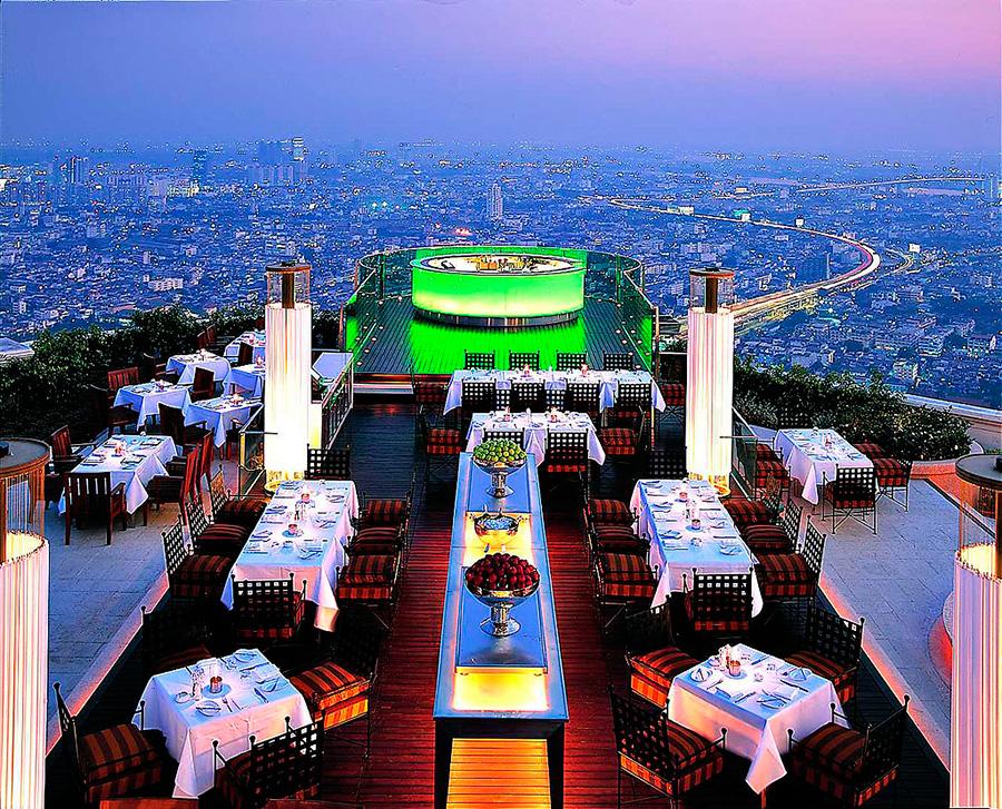Лебуа - ресторан Сирокко, из Мальчишника в Бангкоке