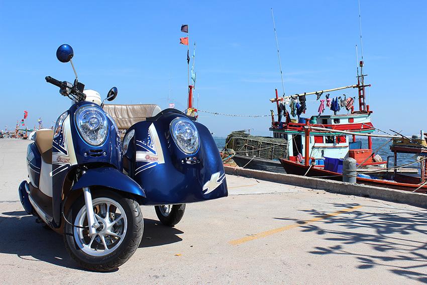 супер байк с коляской в  аренду  в Паттайе