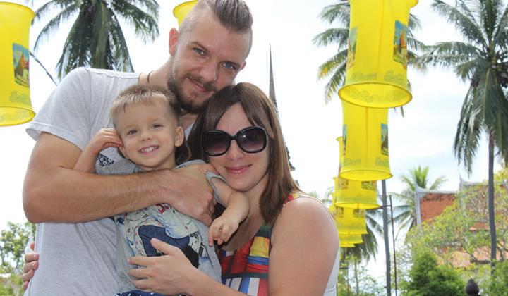 Жизнь в Таиланде глазами Антона, Инессы и маленького Дани