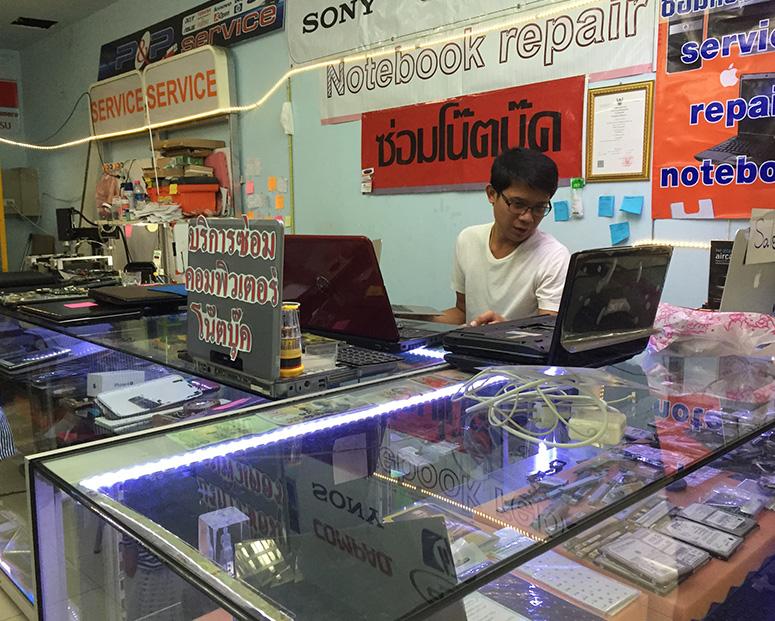 ремонт ноутбуков в Паттайе фото