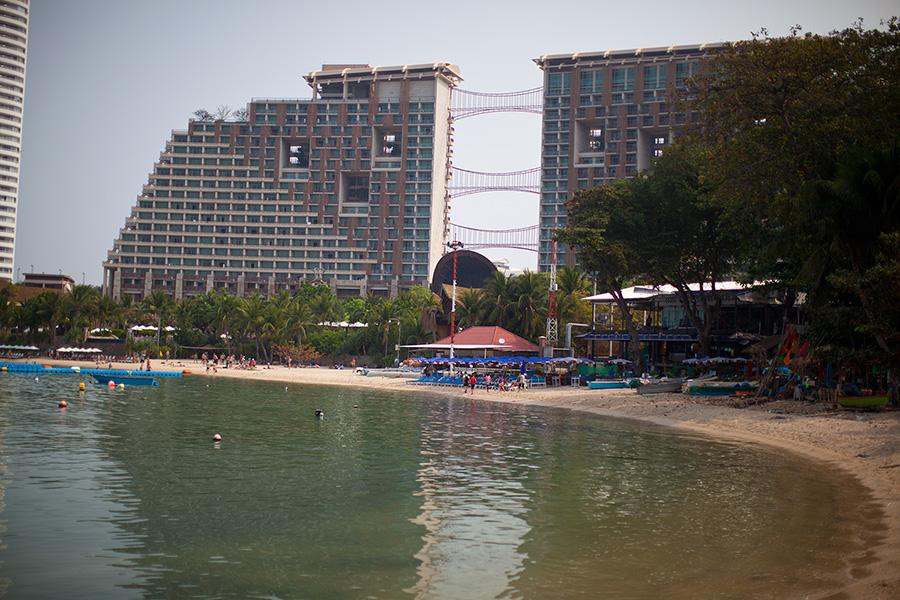 пляж у отеля центара фото