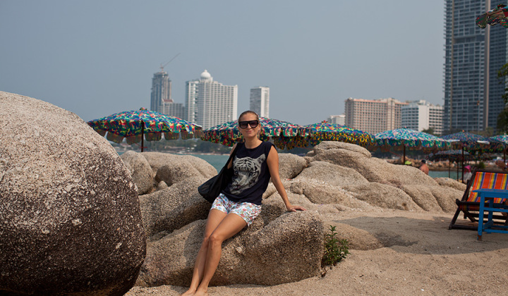 Пляжи Паттайи фото Наклуа и Вонгамат