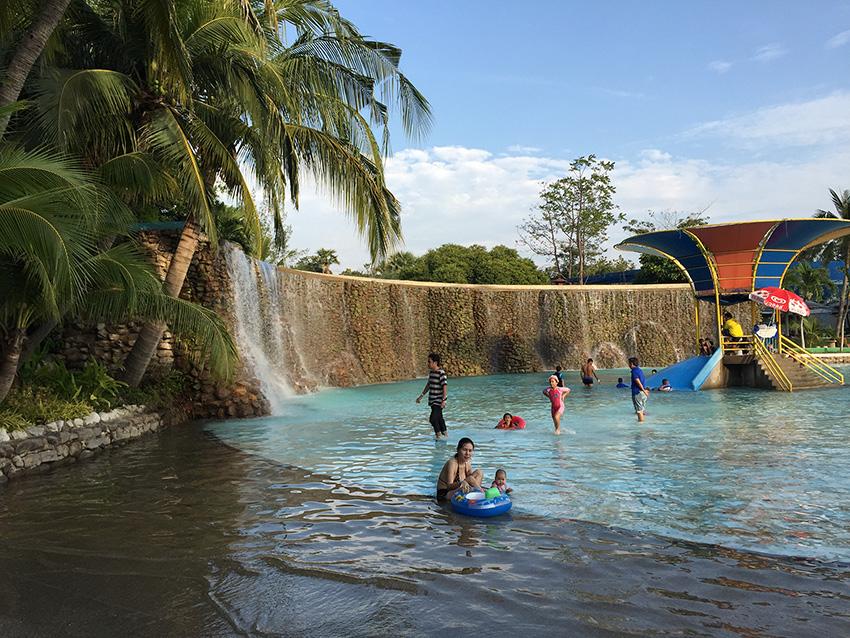 Детям особенно понравился аквапарк в сиам парке