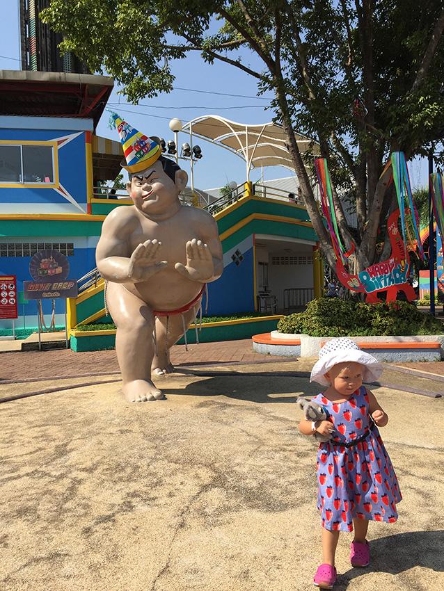Дашон и сумоист