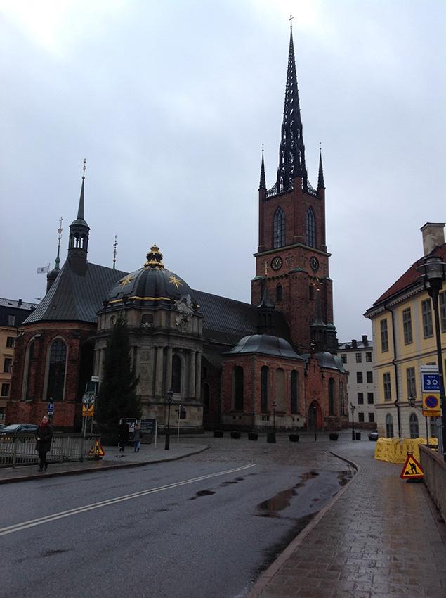 Церковь на Рыцарском острове