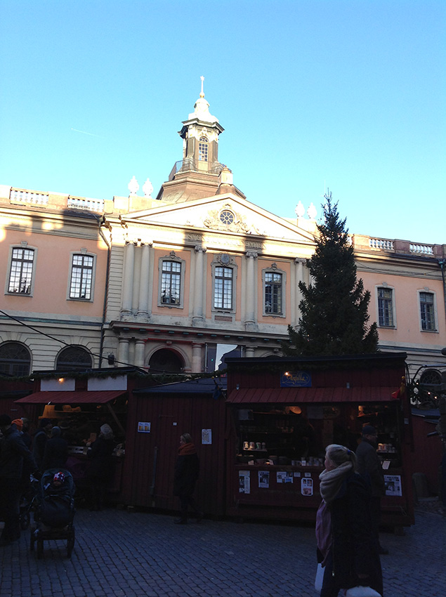рождественская ярмарка на площади