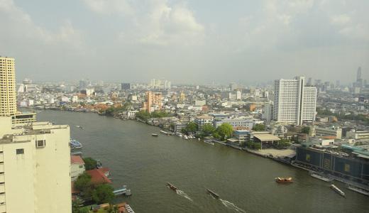 Чао прайя - главная река Бангкока