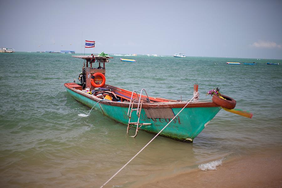 Пляжи Паттайи - центральный на Бич роуд фото