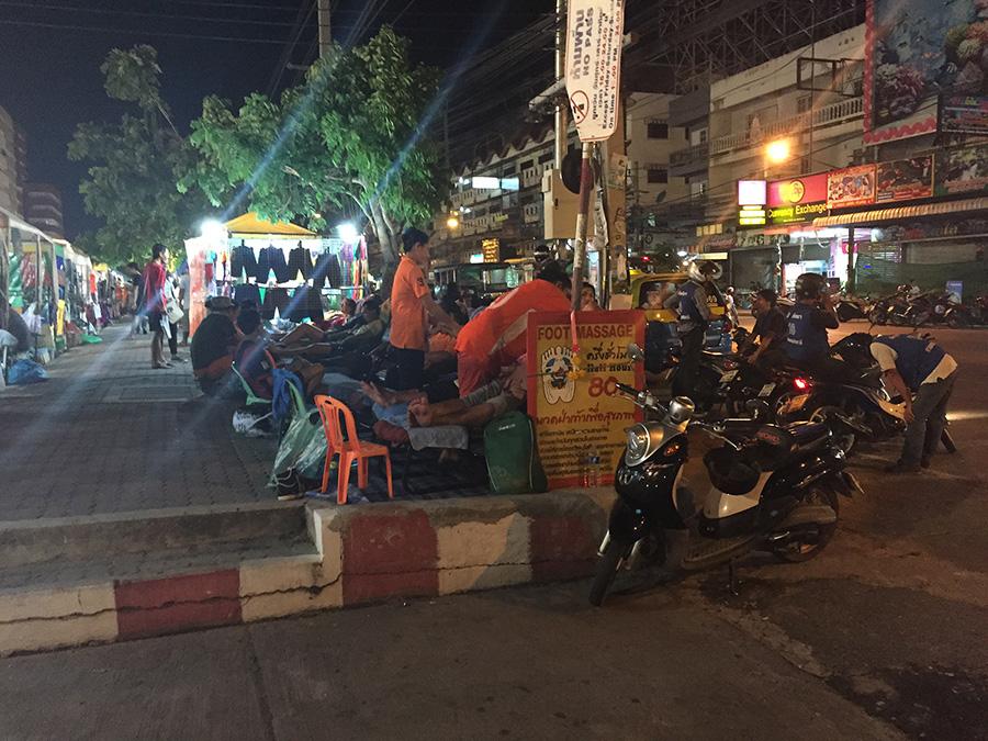 массаж Паттайя фото ночной рынок