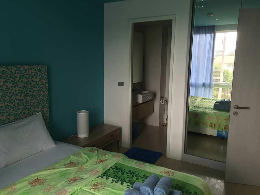 спальня в 1-бедрум в Атлантис