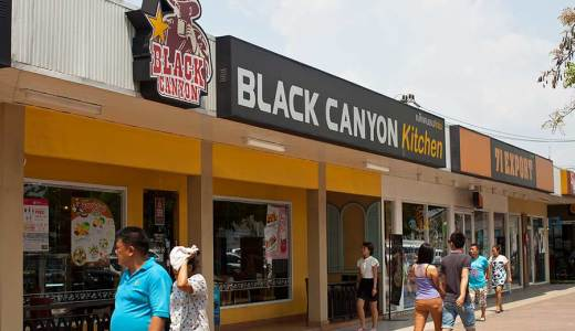 рестораны паттайи Блэк Каньон фото