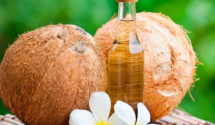 кокосовое масло фото- применение - отзыв