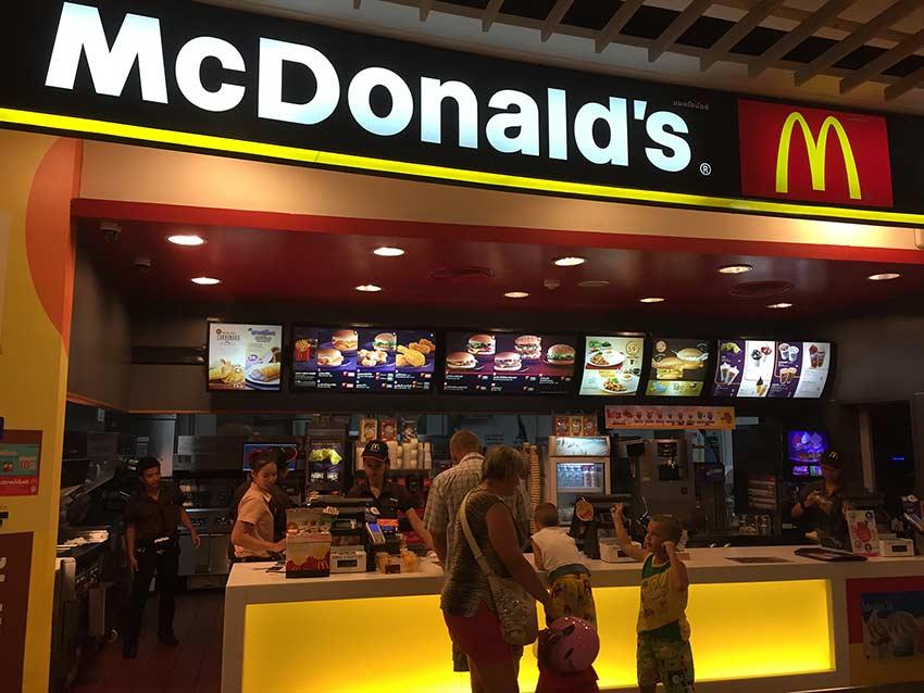 Макдоналдс в Паттайе