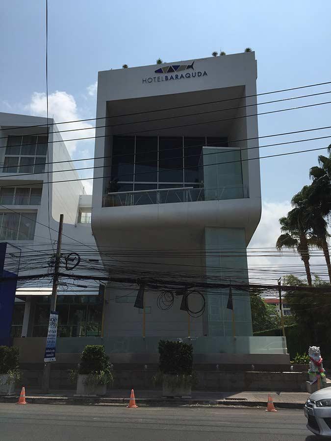 поворот к почте в Паттайе с улицы секонд роад в центре