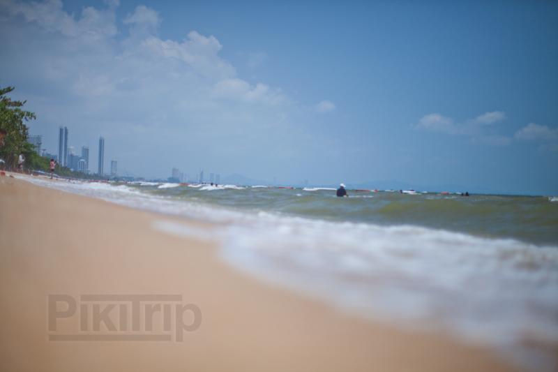 море пляж Джомтьен