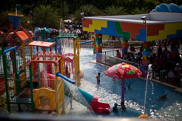 аквапарк оправдал все ожидания, В такую жару без него никуда
