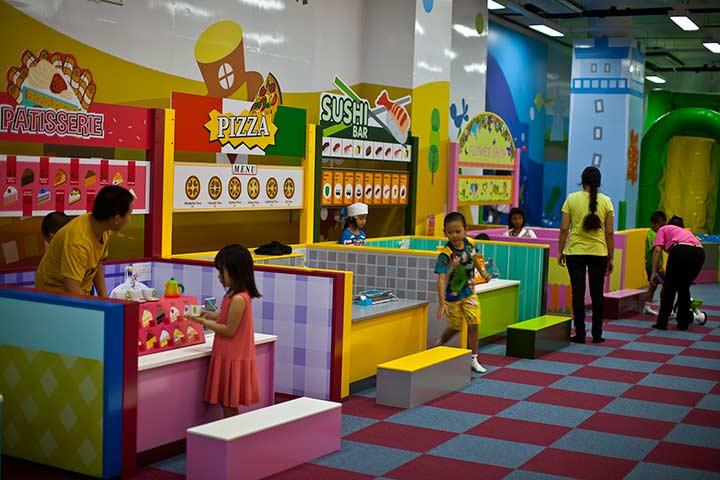 кидзона детская комната в Паттайе фото