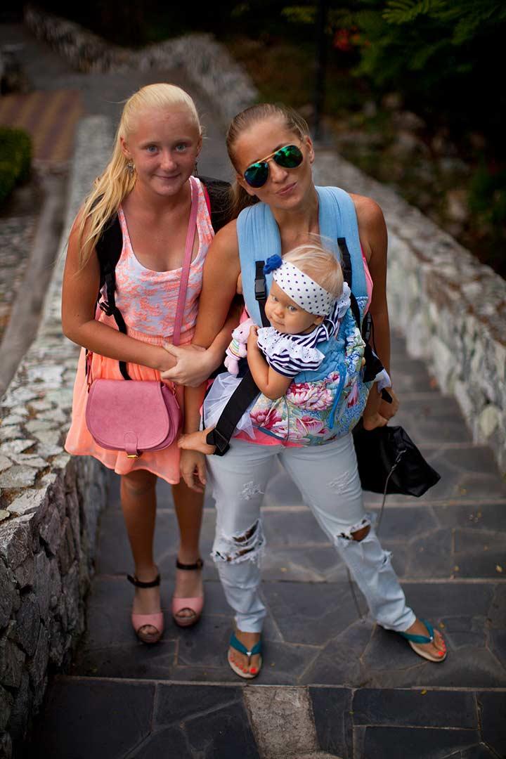 мама и с двумя детьми должна выглядеть хорошо