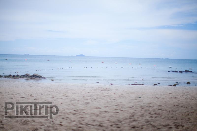 военный пляж во время отлива