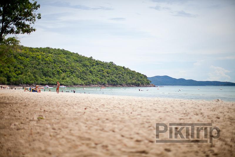 военный пляж Паттайя фото