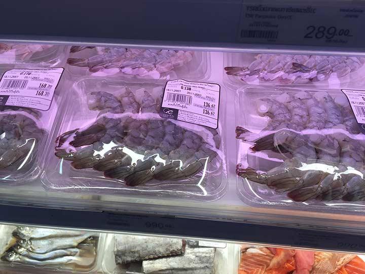 креветки королевские свежие. Чищенные. Удобно купить на раз, в пасту или так