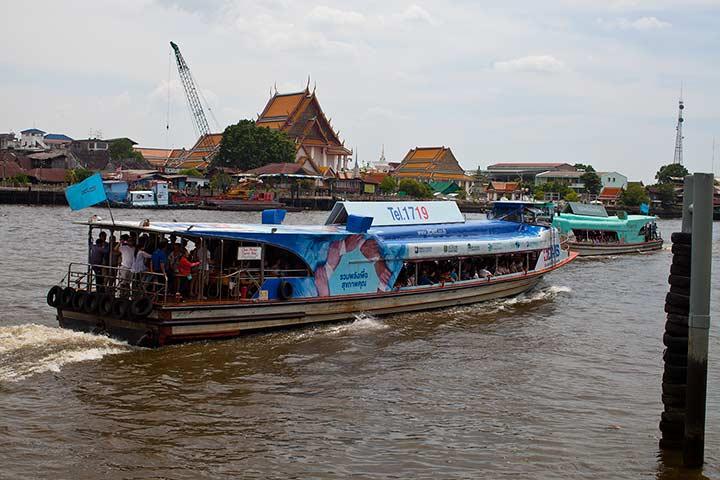 лодки в Бангкоке фото