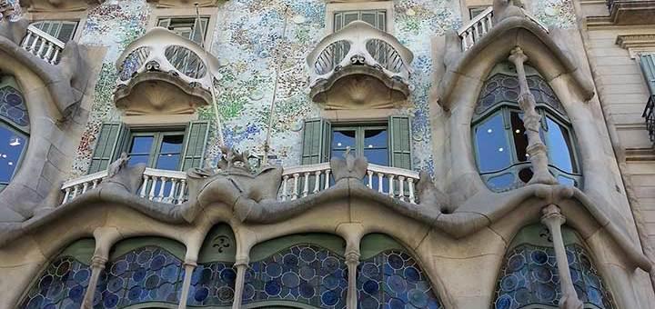Гауди фото дом Бальо