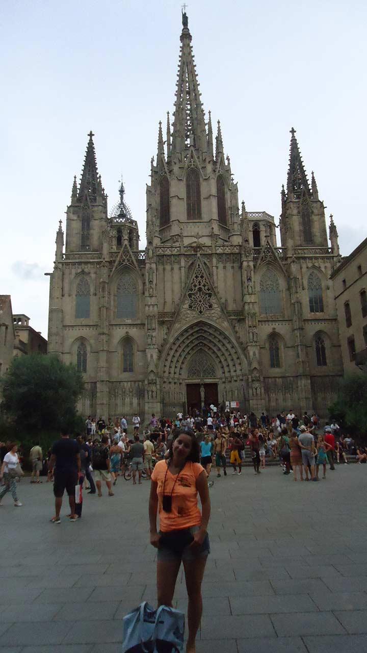 Кафедральный собор в Барселоне — Собор Святого Креста и Святой Евлалии (La catedral de la Santa Kruz y Santa Eulalia)