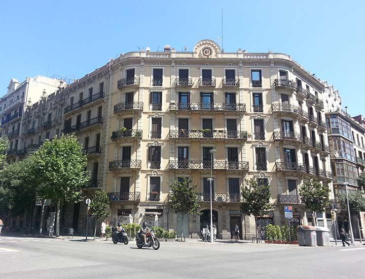 Современный район города. Барселона (фото)